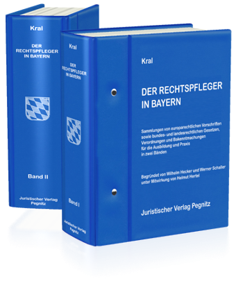 Der Rechtspfleger in Bayern (Bd.I/II)